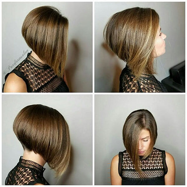 Graduated Short Hairstyles