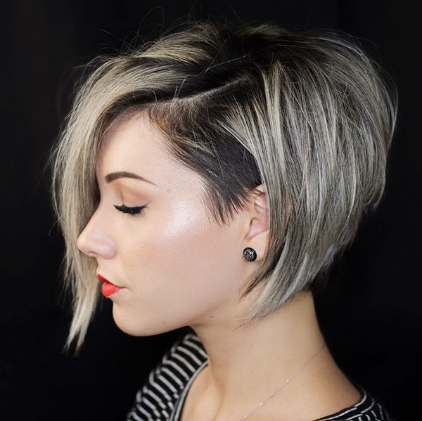 Inverted Short Bob