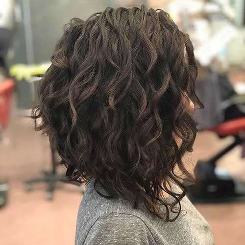 Long Curly Bob