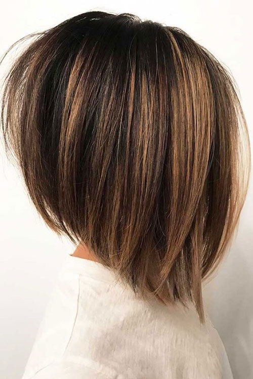Short Hairstyles for Thick Straight Hair-14