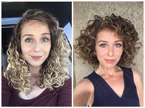 Short Curly Hair Women-15