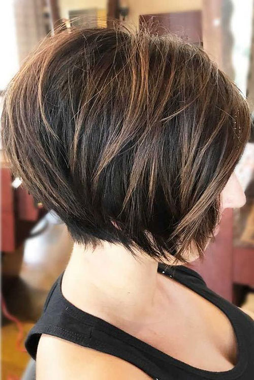 Short Hairstyles for Thick Straight Hair-20