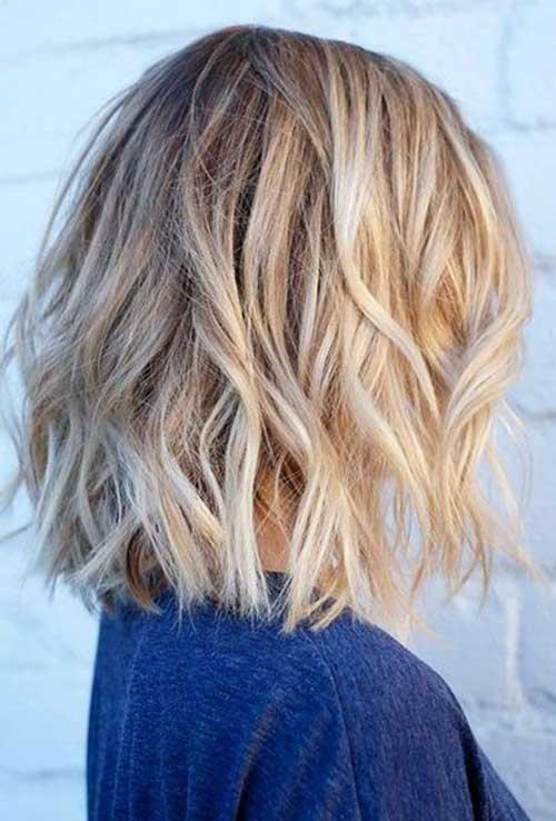 Short Wavy Blonde Hair-11