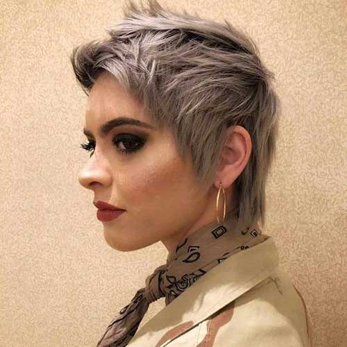 Short Choppy Hair Styles-11