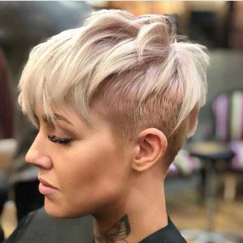 Short Choppy Hair Styles-13