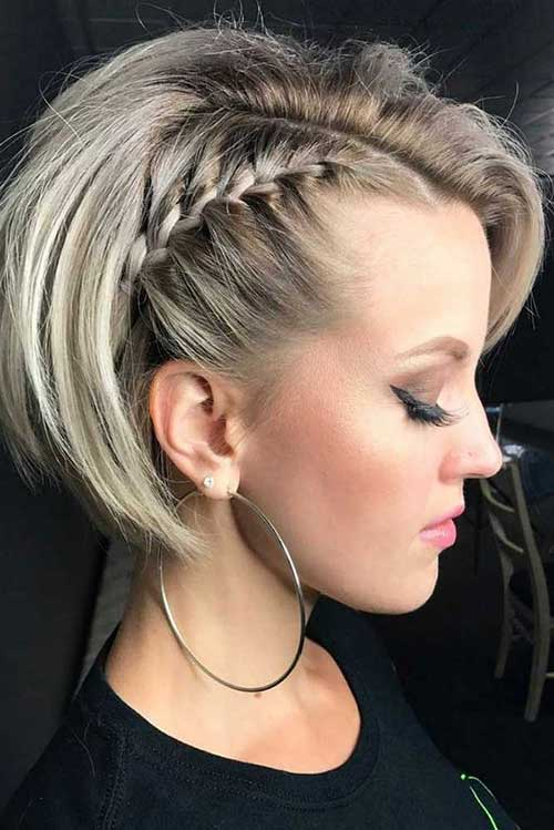 Braids for Short Hair-17