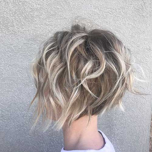 Short Choppy Hair Styles-17