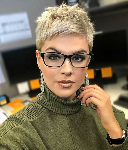 Very Short Pixie Cuts 2019-17