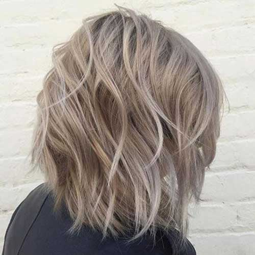 Short Wavy Blonde Hair-18