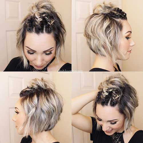 Braids for Short Hair-18