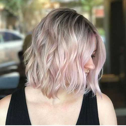Short Wavy Blonde Hair-20