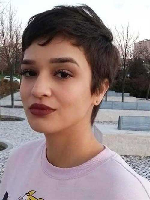 2019 Short Pixie Cuts for Fine Hair
