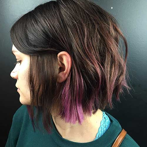 Short Haircuts For Girls With Thick