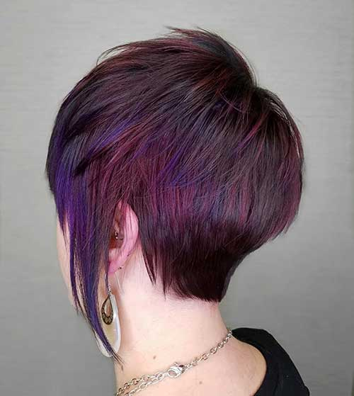 Short Layered Hair For Girls