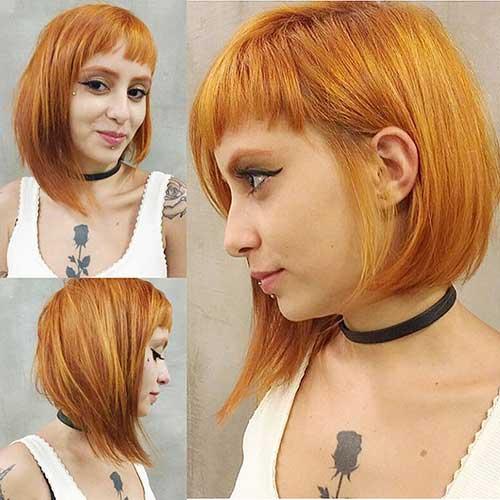 Red Short Hair Girl