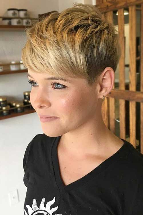 Short Choppy Hair Styles-7
