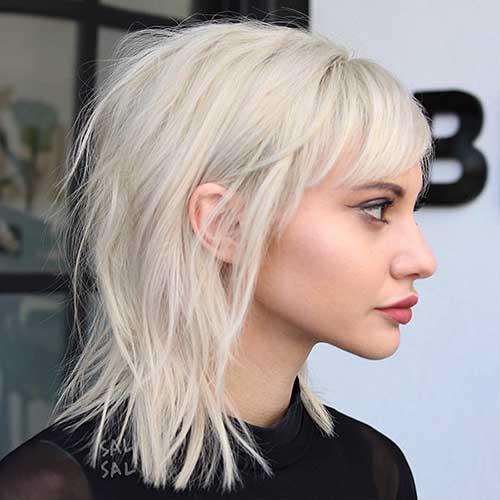 Short Girl Haircuts With Bangs