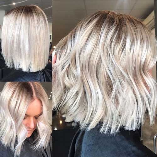 Short Wavy Blonde Hair-8