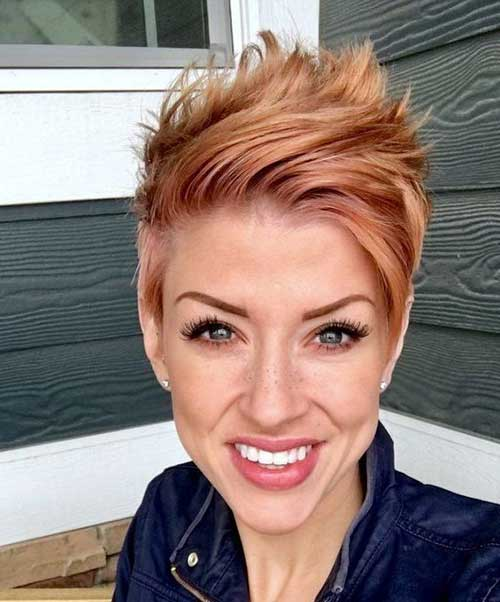 Short Choppy Hair Styles-9