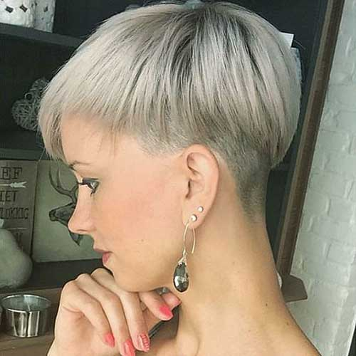 Short Pixie Cuts for Fine Blonde Hair
