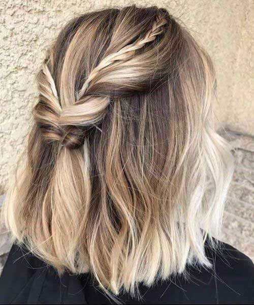 Cute Easy Braids for Short Hair