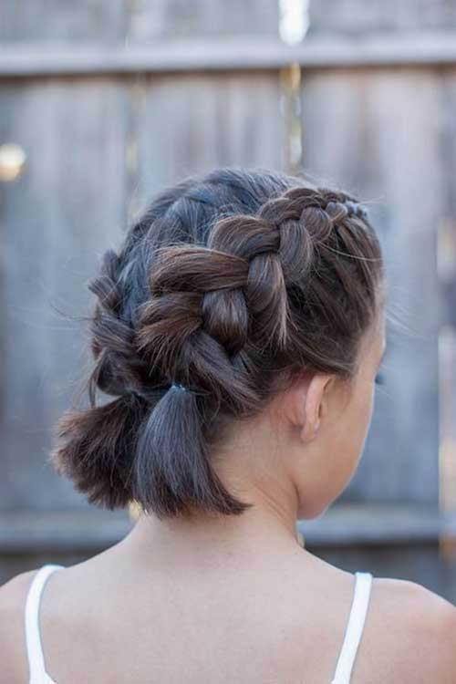Cute Hair Braids for Short Hair