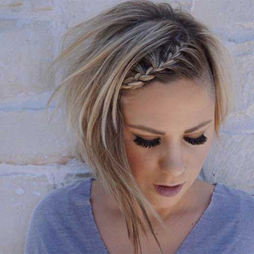 Cute Simple Braids for Short Hair