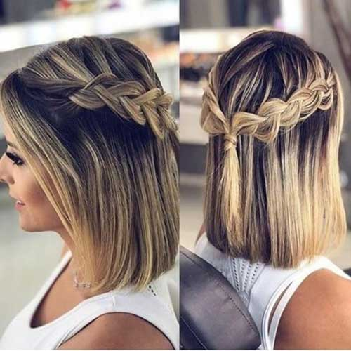 Easy Cute Braids for Short Hair