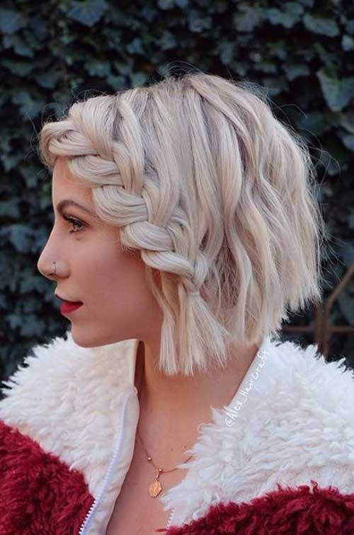 Cute Braids For Short Hair You Ll Love Short Hairstyles