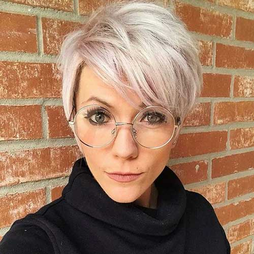Funky Pixie Cuts for Fine Hair