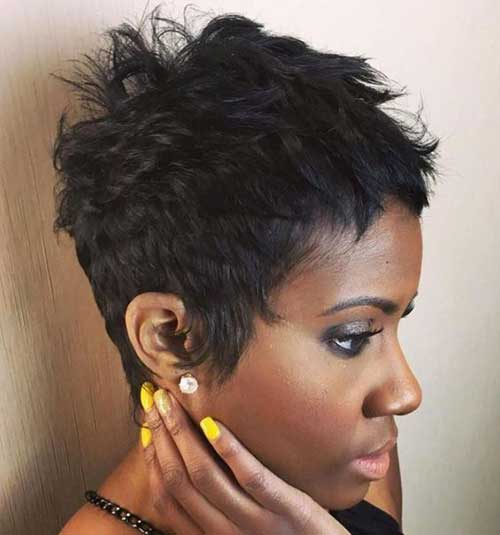Short Pixie Styles for Black Women