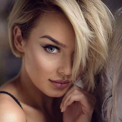 Sexy Short Hair Style