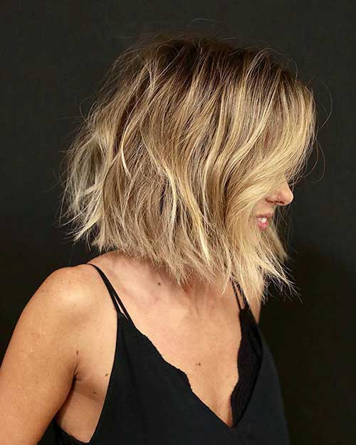 Sexy Short Blonde Hairstyle