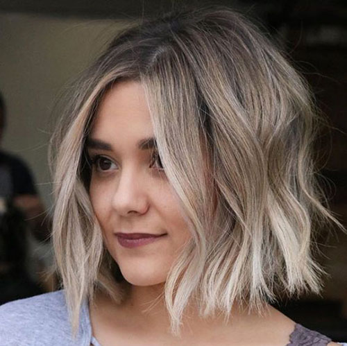 Short Hair for Round Face-11