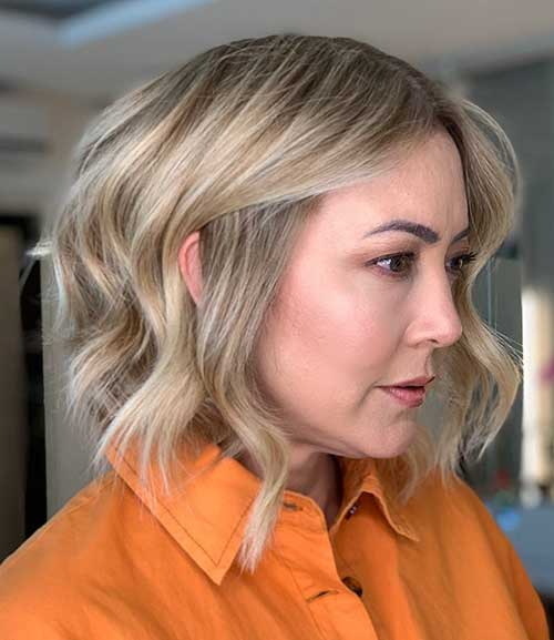 Medium Short Haircut For Women