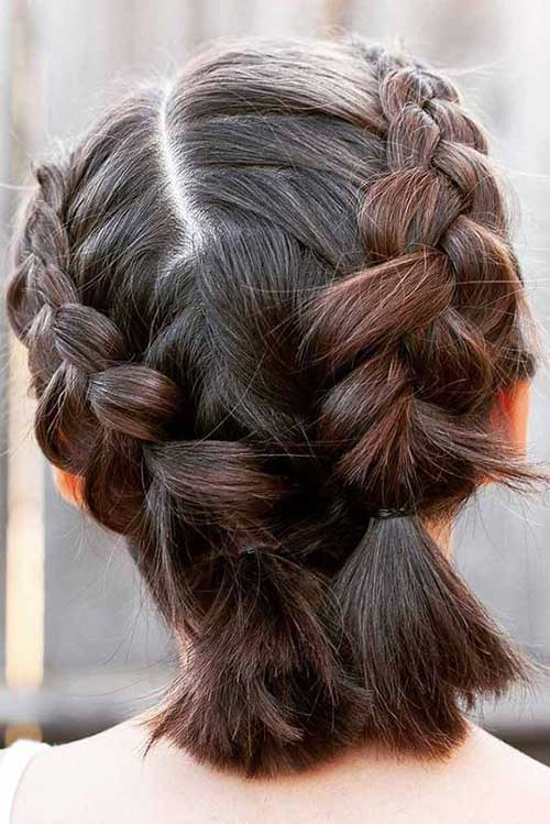 Cute Braids for Short Hair with 20 Examples | Braids for ...
