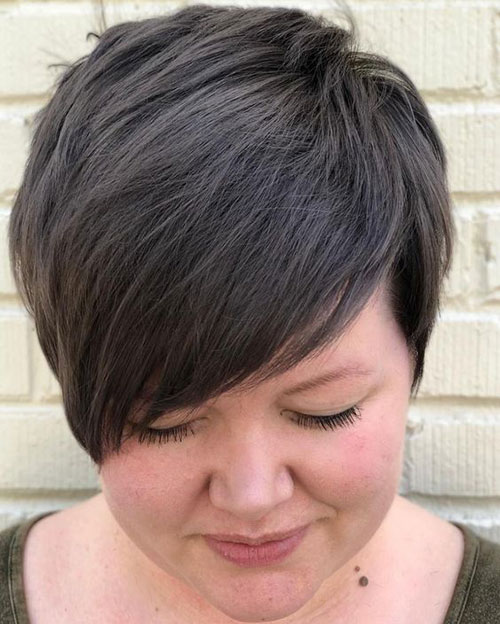 Short Hair for Round Face-14