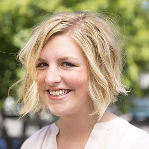 Short Hair for Round Face-16