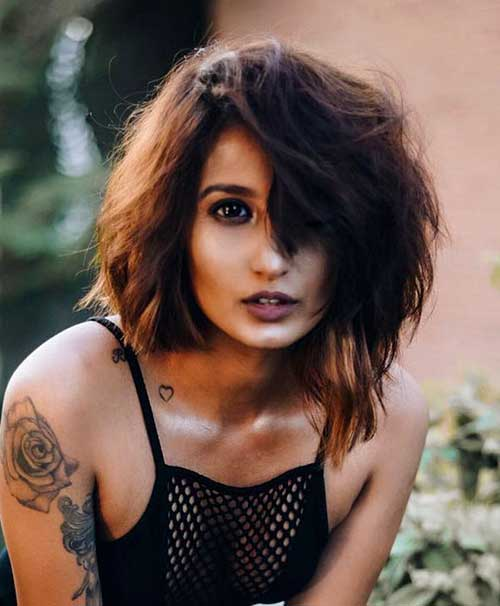 Sexy Messy Short Hairstyles
