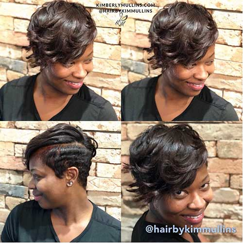 Black Girl Short Cuts And Bangs