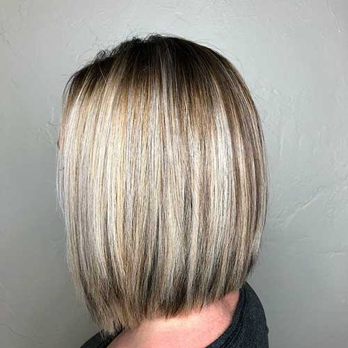 Long Blonde Bob Cuts