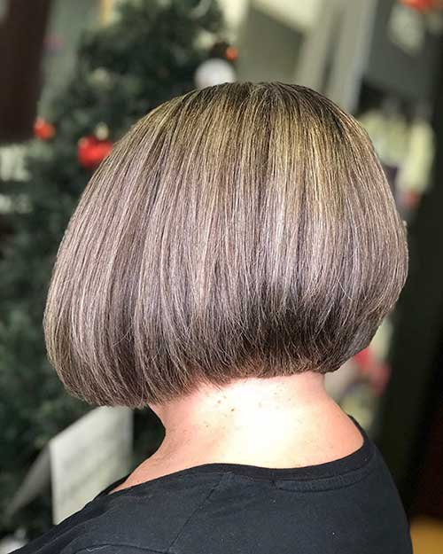 Graduated Short Bob Styles