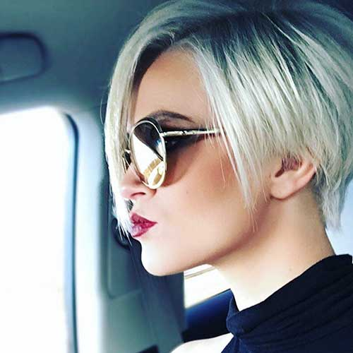 Sexy Hairstyle For Short Hair