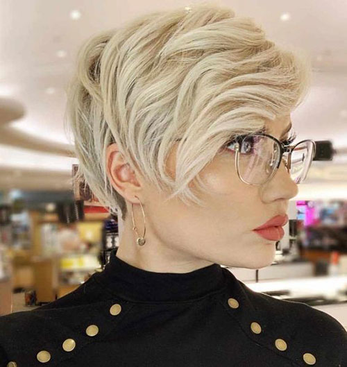 Short Hair for Round Face-6