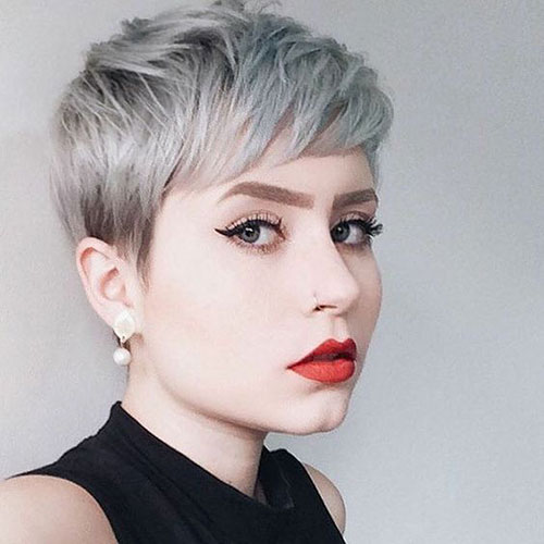 Short Hair for Round Face-7
