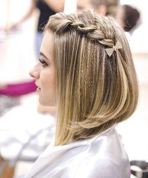 Cute and Easy Braids for Short Hair