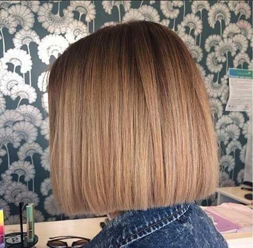 Short Straight Blunt Bob Hairstyles-10