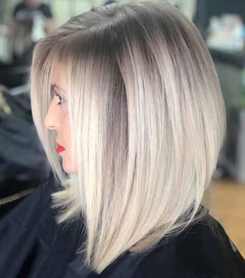 Short Haircuts for Women with Fine Ash Blonde Hair-12