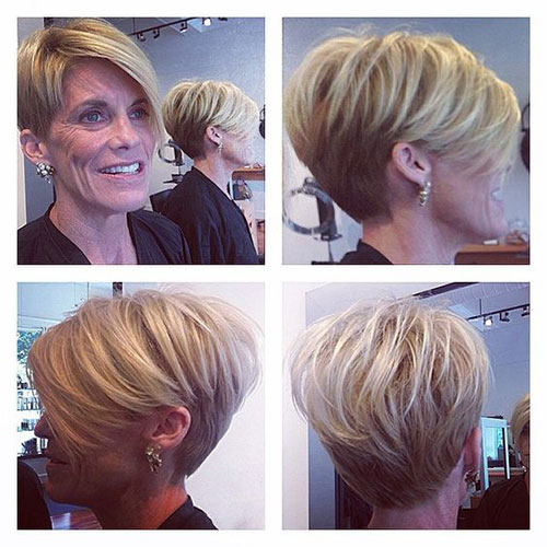 Best Short Haircuts for Women Over 5-12