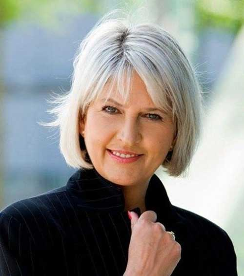 Best Short Haircuts for Women Over 5-14